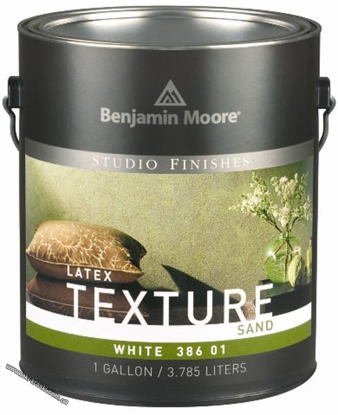 Купить Bejamin Moore Moore's Latex Texture Paint Sand Finish 386