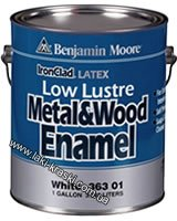 Купить Benjamin Moore Latex Low Lustre Metal & Wood Enamel 363