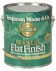 "Flat Fortified Acrylic House Paint 105 ""MoorLife®"