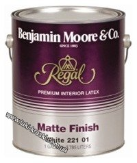 "Купить Bejamin Moore Matte Finish 221 ""Regal®"""